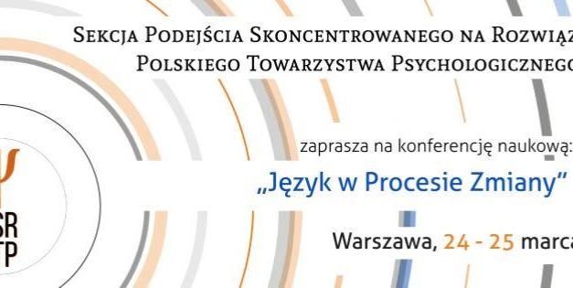 """Konferencja naukowa """"Język w procesie zmiany"""", Warszawa 24-25.03.2017 r."""